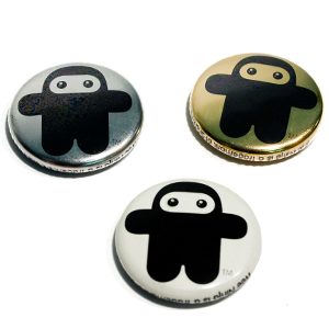 Wee Ninja special edition buttons